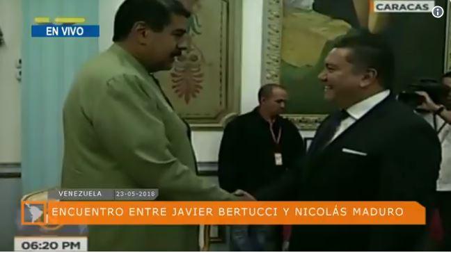 Bertucci fue a Miraflores pero no le llevó sopa a Maduro