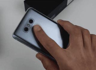 tombol power LG G6
