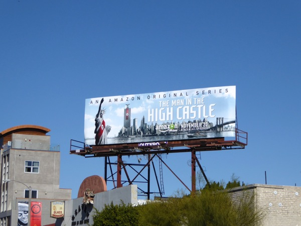 Man in the High Castle Amazon billboard
