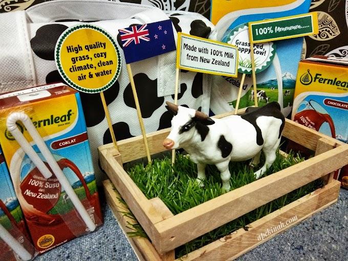 Susu Fernleaf UHT 100% Susu Dari New Zealand