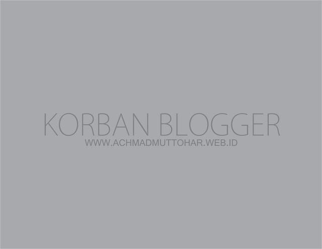 Korban Blogger, Sebuah Ajang Silaturahmi yang Unik Antar Sesama Blogger