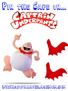 Captain Underpants party games