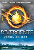Libro Divergente de Veronica Roth