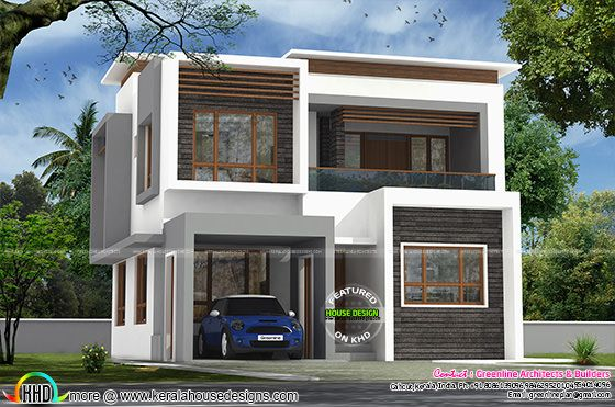 3 bedroom 40x50 modern house architecture