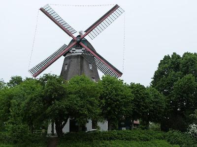Windmühle, Galeriemühle, Kornmühle, Mühle