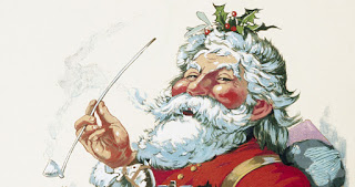 """Source: NVIDIA blog. From the January 1, 1881 edition of Harper's Weekly, """"Merry Old Santa Claus"""" by Thomas Nast is one of the earliest drawings of the holiday icon the way he is depicted today, complete with red suit. (Image credit: Wikimedia Commons, licensed under public domain)."""