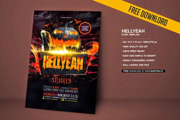 Hellyeah Flyer Template