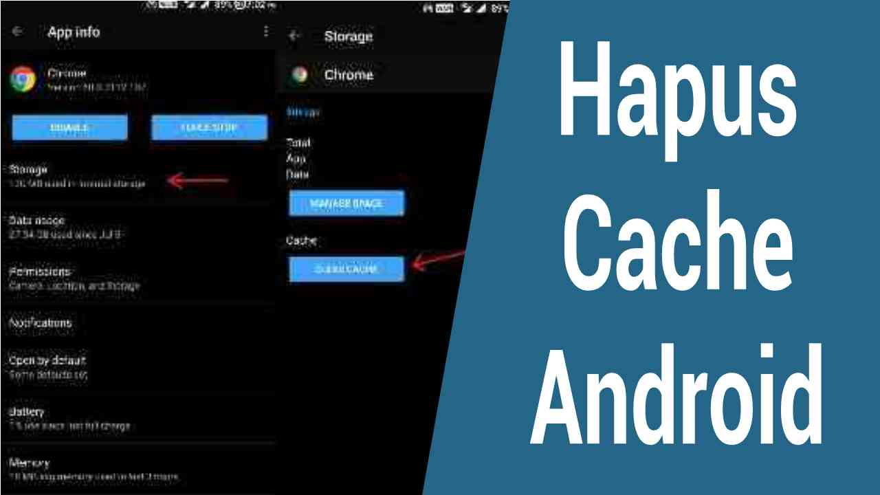 4 Cara Mudah Menghapus Cache pada HP Android