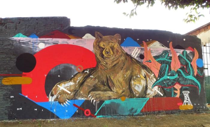 Уличный художник. Zeh Palito 19