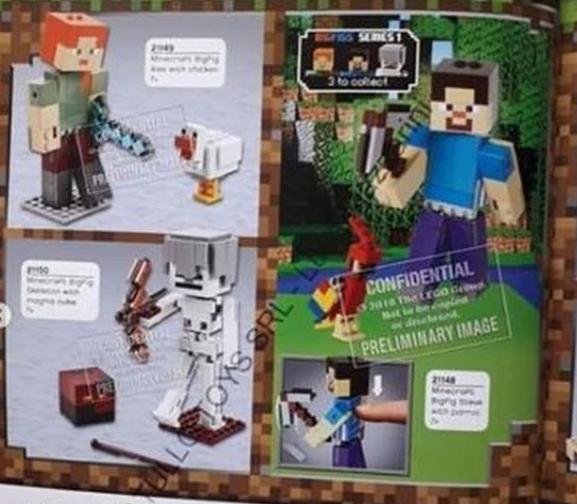 AnJ's Brick Blog: Lego Minecraft 2019 Set Images Leaked!