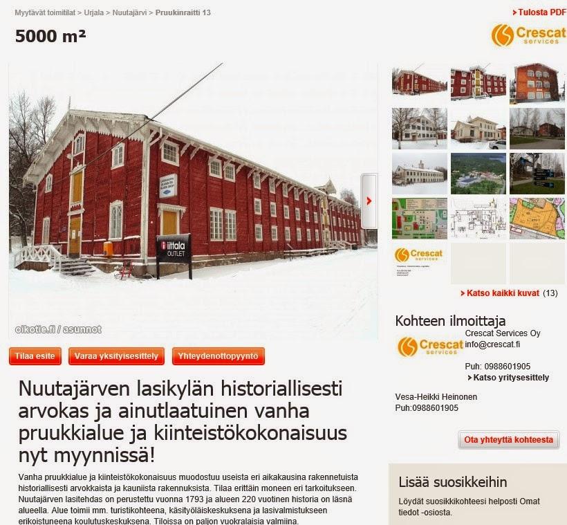 Vanhat Rakennukset Myytävänä