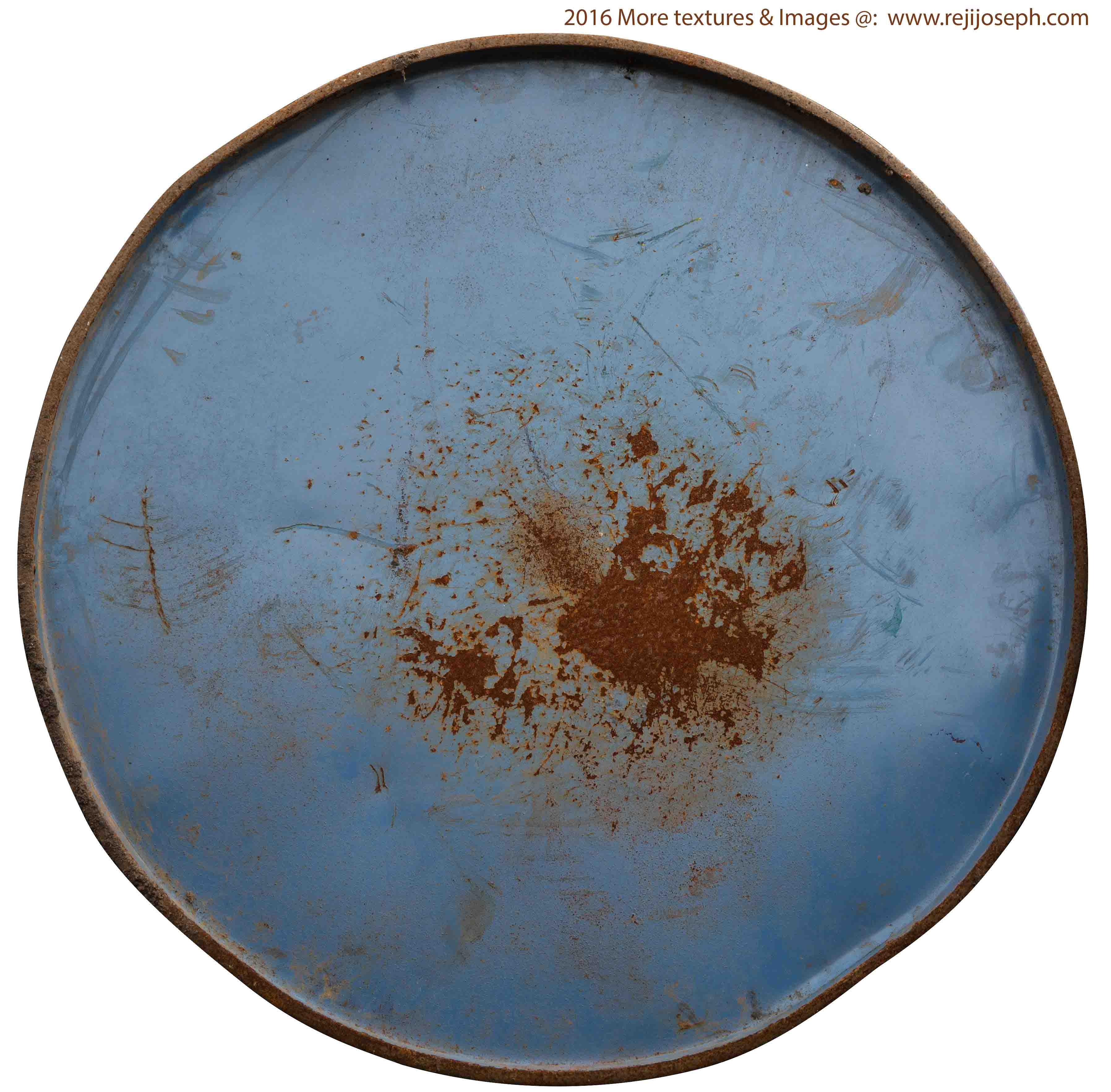 Rusty metal Oil can texture 00006