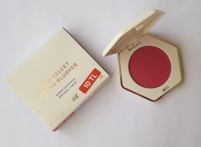hm beauty, hm allık, krem allık, cream blush, hm cream blush, hm blush, pure velvet cream blusher, kozmetik, hm kozmetik,