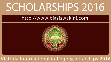 Victoria International College Scholarships 2016
