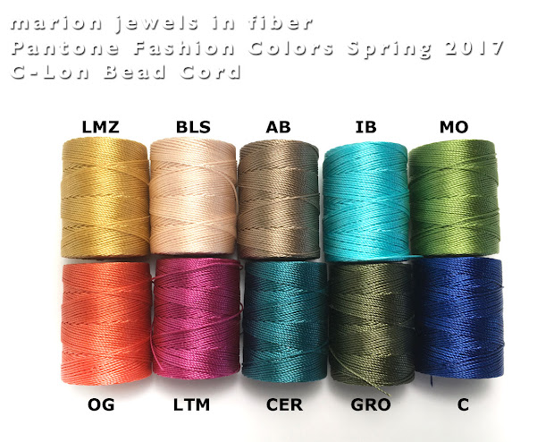Marion Jewels In Fiber - And
