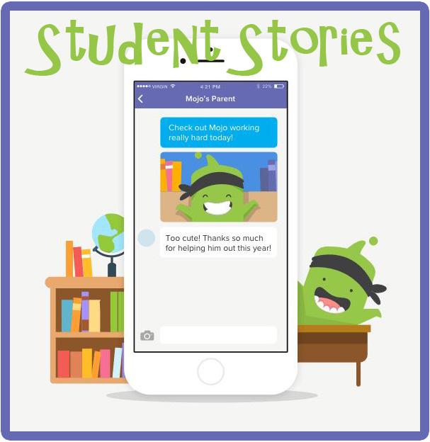 The Primary Peach: Class Dojo - Student Stories