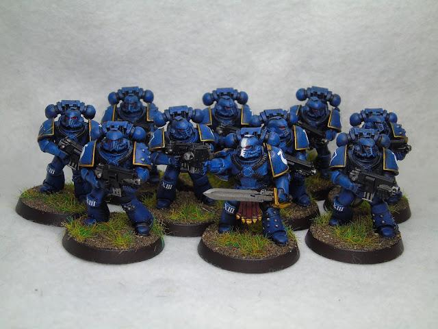 30k horus heresy ultramarine tactical squad