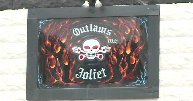Outlaws Joiliet Clubhouse Biker Trash Network
