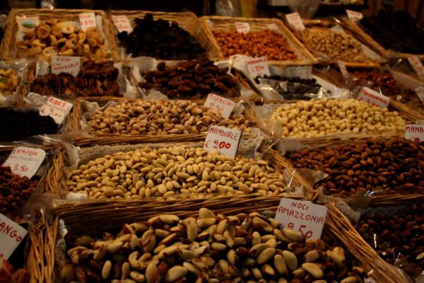 Mercado Central San Lorenzo em Florença
