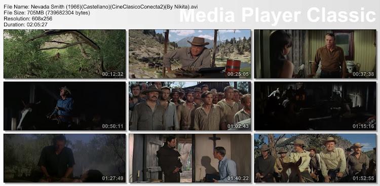 Nevada Smith [1966] | Capturas | Pelicula