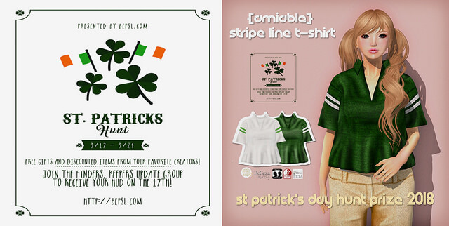 {amiable}St Patrick's Day HUNT 2018 FREE Prize@ main store.