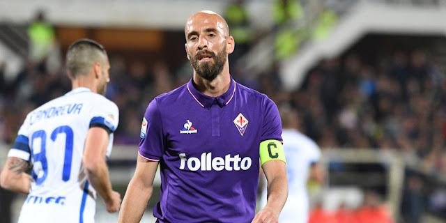 SBOBETASIA - Fiorentina Resmi Lepas Borja Valero ke Inter Milan