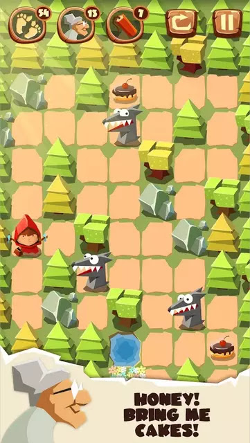 Bring me Cakes Little Red Riding Hood Puzzle Apk