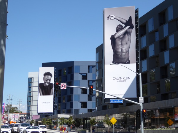 Calvin Klein Underwear Moonlight actors billboards Sunset Strip
