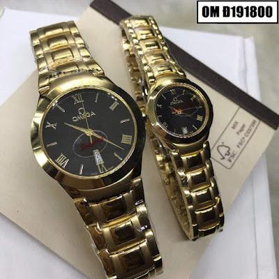 Đồng hồ cặp đôi đẹp nhất OM Đ191800