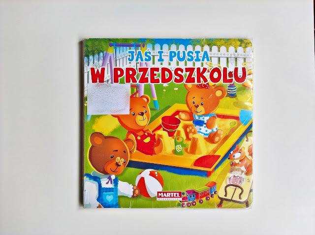"""""""Jaś i Pusia. W przedszkolu"""" - Agnieszka Nożyńska-Demianiuk"""