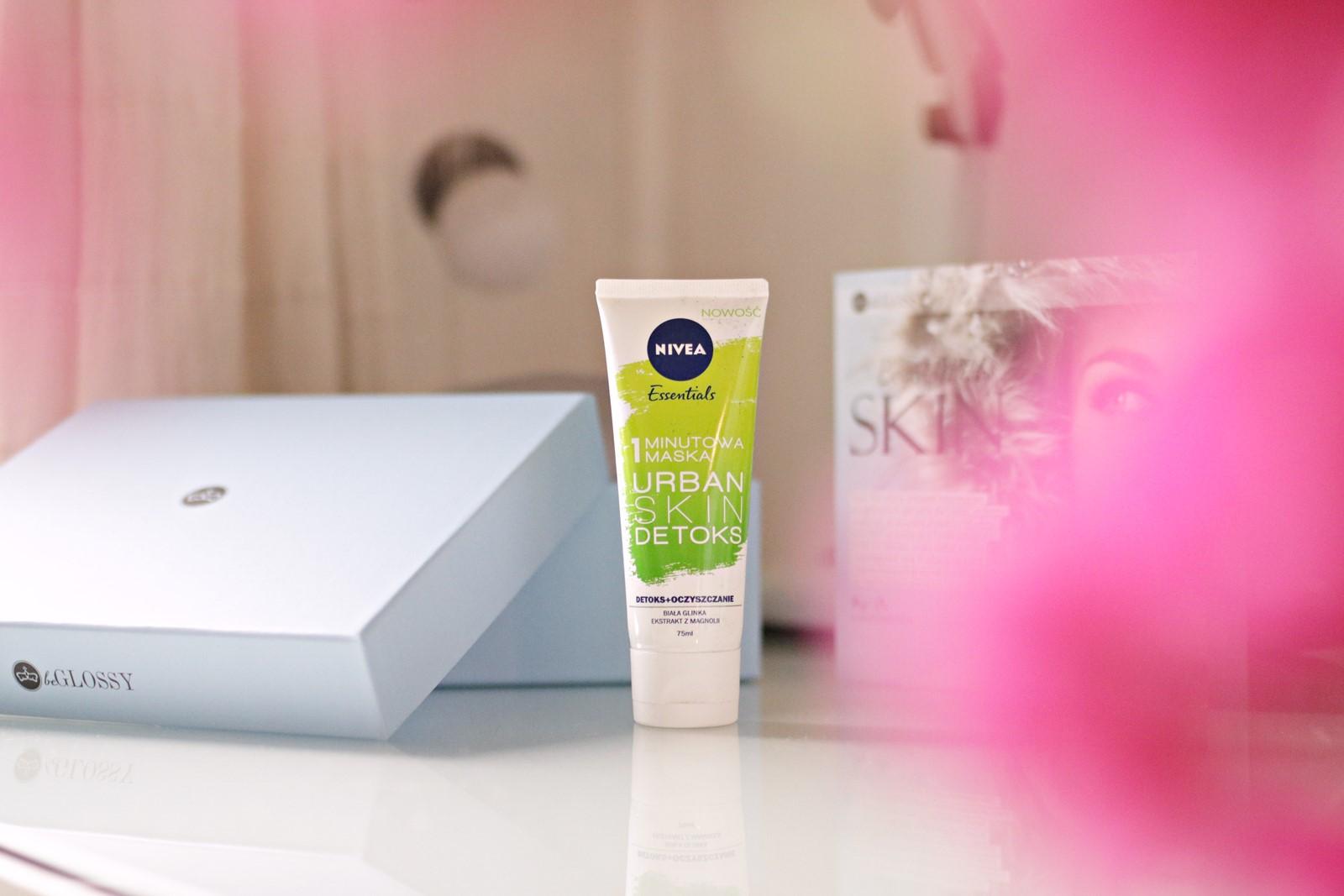beGLOSSY Begin With Skin- Nivea 1-minutowa maska