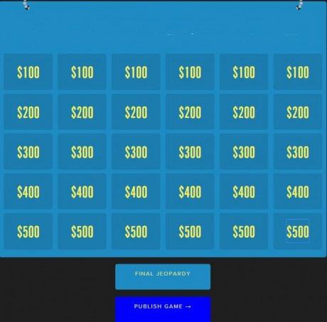 Jeopardy Rocks - ვიქტორინის ონლაინ