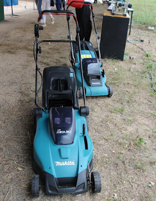 Makita 36 volt battery lawn mower Buriram Thailand