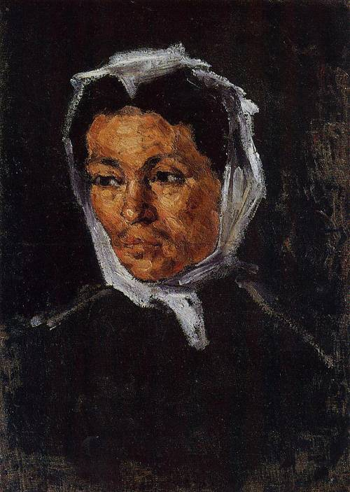 Paul Cezanne, Portrait of the Artist's Mother, 1866-67