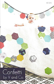 V and Co. CONFETTI Quilt Pattern