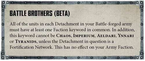 Big FAQ 1 Hermanos de batalla