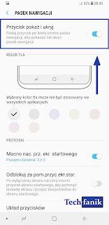 Samsung Galaxy S9+ Włączanie i Wyłączanie Kropki Przy Przyciskach Nawigacyjnych