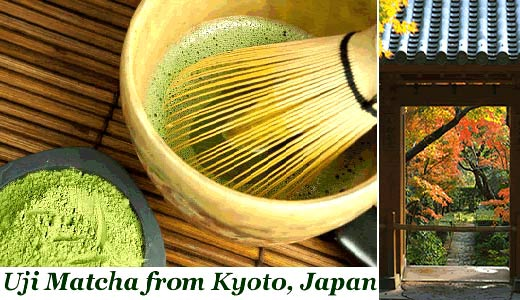 Uji Matcha Japanese green tea powder Kyoto fat burner diet