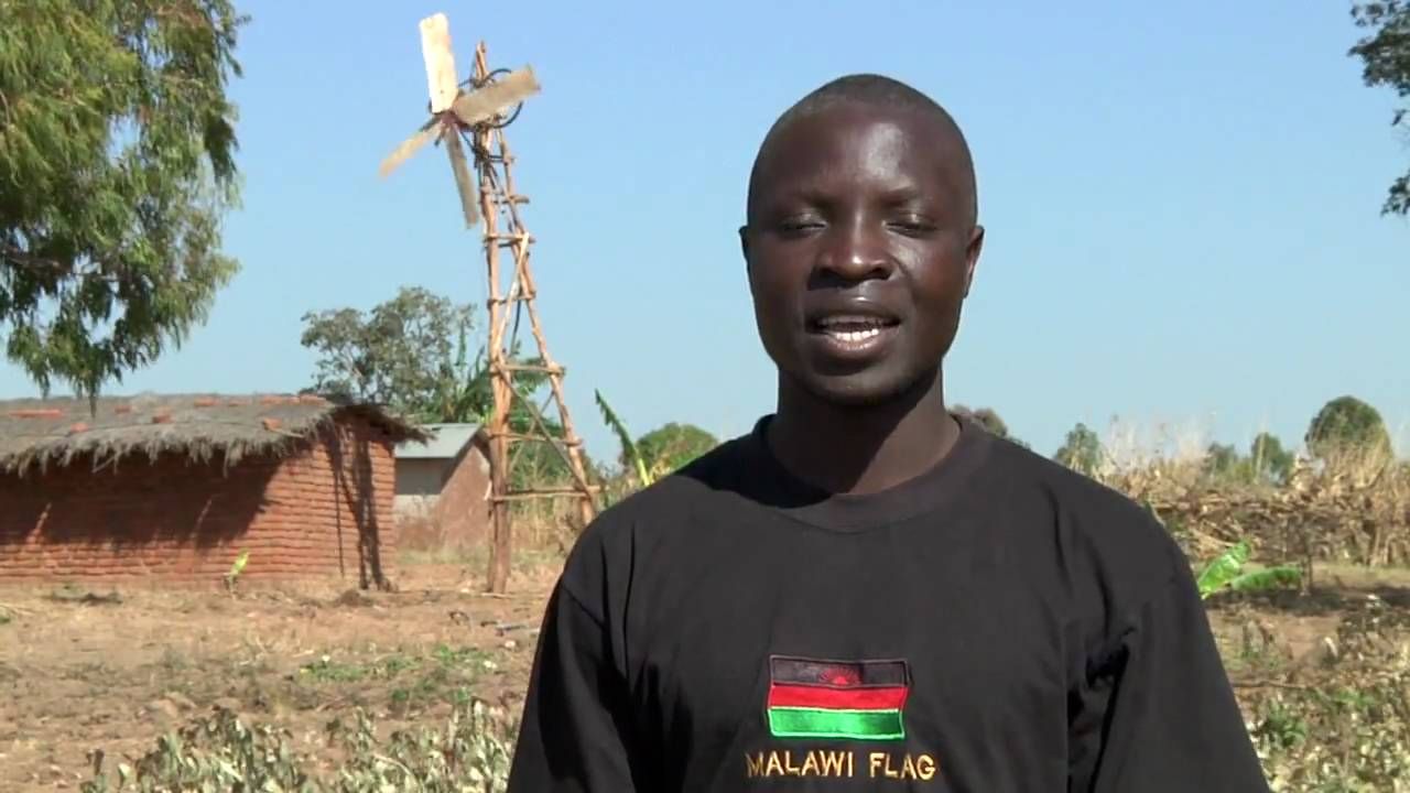 William Kamkwamba, the African Teen Who Invented Wind Turbine Out of Scrap