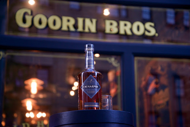I.W. Harper Bourbon at Goorin Brothers in NYC