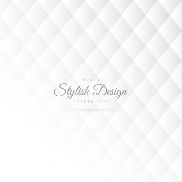 Stylish white pattern with rhombus Free Vector