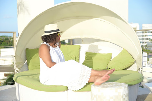 Relaxation Mode At The Residence Inn By Marriott Miami Beach