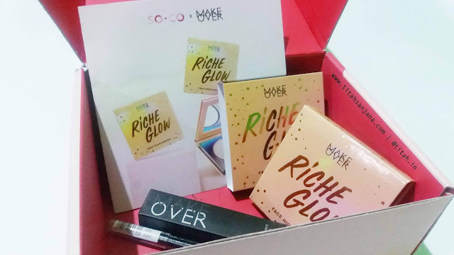 UNBOXING DAN REVIEW #SOCOBOX X MAKE OVER-ADA HIGHLIGHTER TERBARU DARI MAKE OVER