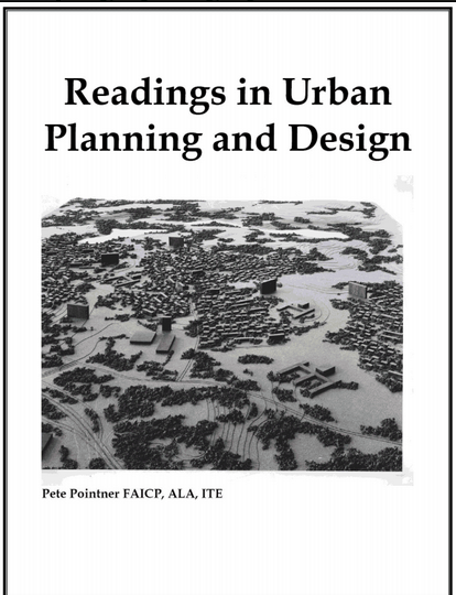 Urban Planning and Design