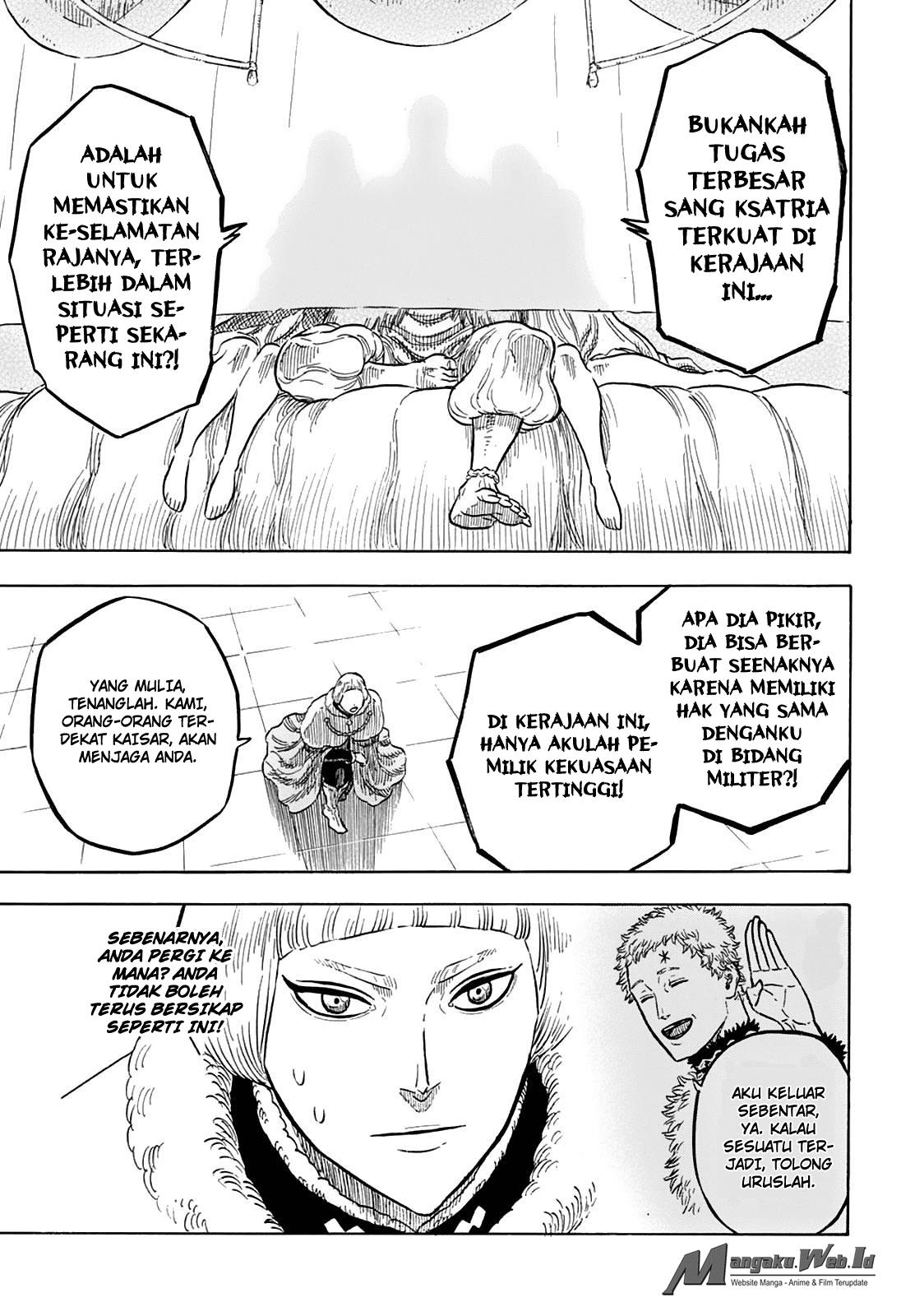 Blackclover Chapter 29 Kekalahan yang menyakitkan