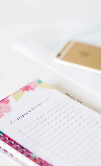 Setting Yearly Blog and Branding Goals | A Relaxed Gal