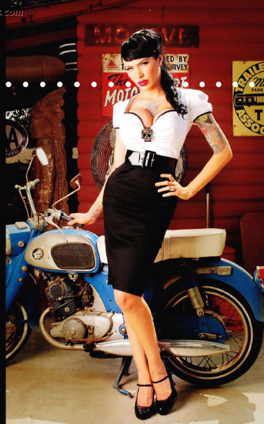 Moda Atomica Pin Up Instyle