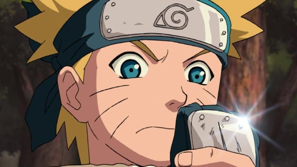 Naruto buscando al Bikochu