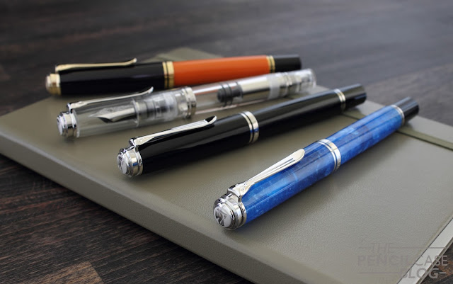 Pelikan Souverän M805 Vibrant blue fountain pen review