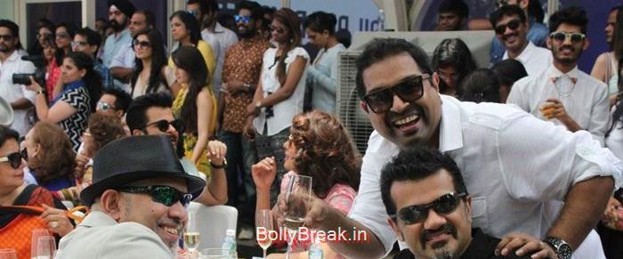 Loy Mendonsa, Ehsaan Noorani, Shankar Mahadevan, Hot Pics of Priyanka Chopra Anushka Sharma At 'Dil Dhadakne Do' Music Launch Photo Gallery
